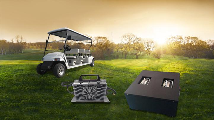 高尔夫球车电源解决方案